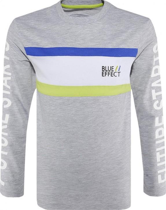 Blue Effect Jungen Langarmshirt/Longsleeve hellgrau melange