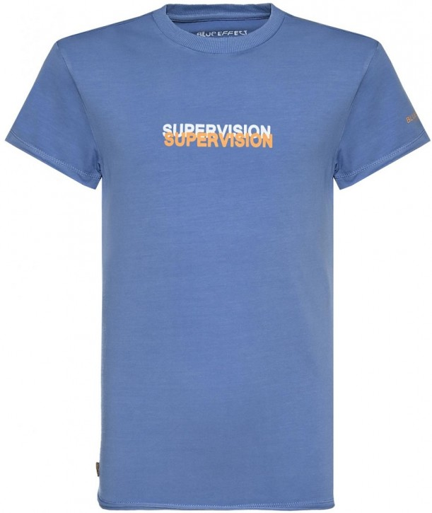 Blue Effect Jungen T-Shirt SUPERVISION himmelblau used