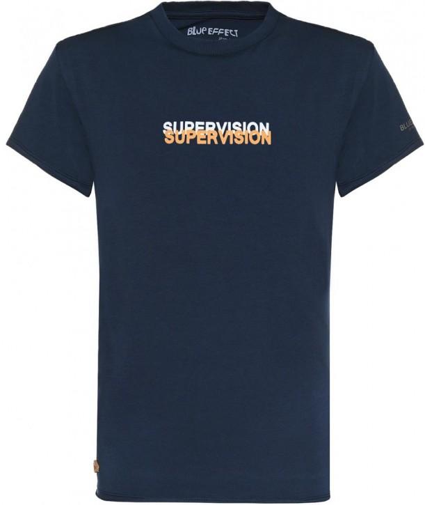 Blue Effect Jungen T-Shirt SUPERVISION dunkelmarine used