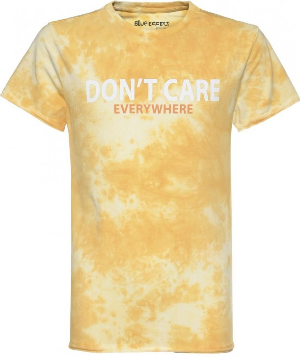 Blue Effect Jungen T-Shirt DON'T CARE kürbis batik