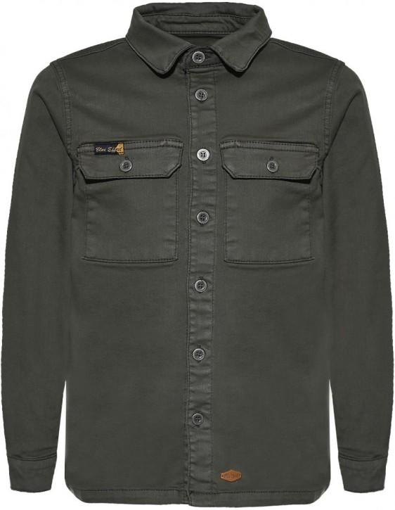 Blue Effect Jungen Overshirt/Hemd dunkelgrün