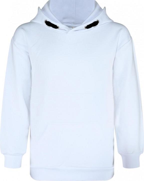 Blue Effect Jungen Kapuzen-Sweat-Shirt/Hoodie weiß