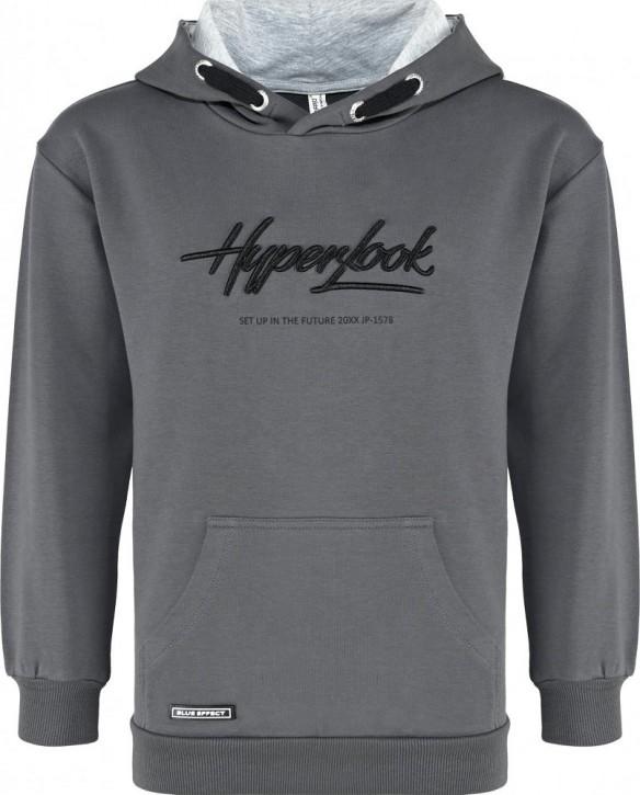 Blue Effect Jungen Kapuzen-Sweat-Shirt/Hoodie HYPERLOOK dunkelgrau