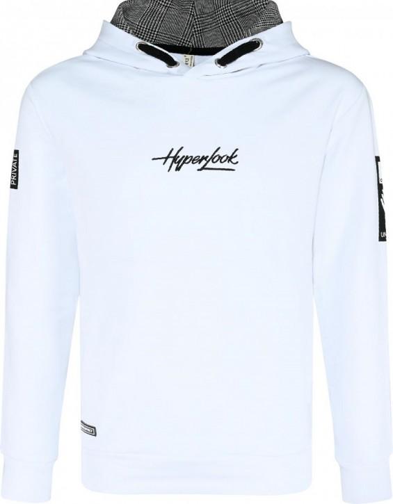 Blue Effect Jungen Kapuzen-Sweat-Shirt/Hoodie HYPERLOOK weiß