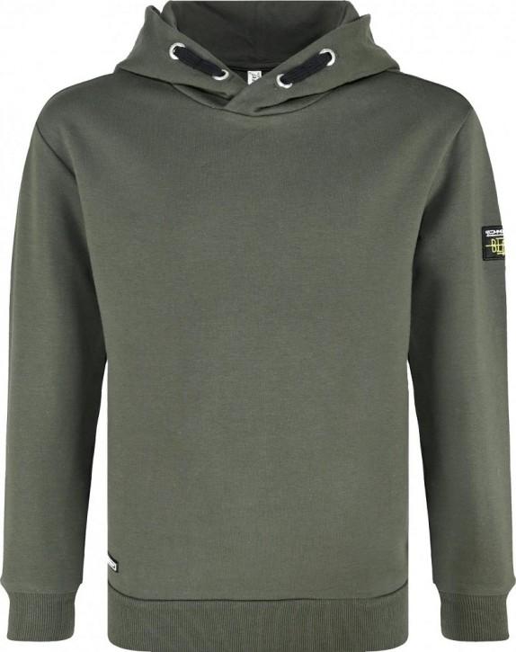 Blue Effect Jungen Kapuzen-Sweat-Shirt/Hoodie dunkelgrün