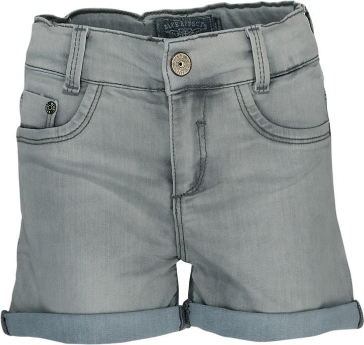 Blue Effect Mädchen Jeans-Short grey bleached