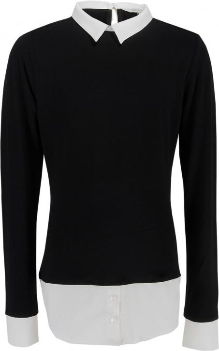 Blue Effect Mädchen Blusen-Shirt schwarz