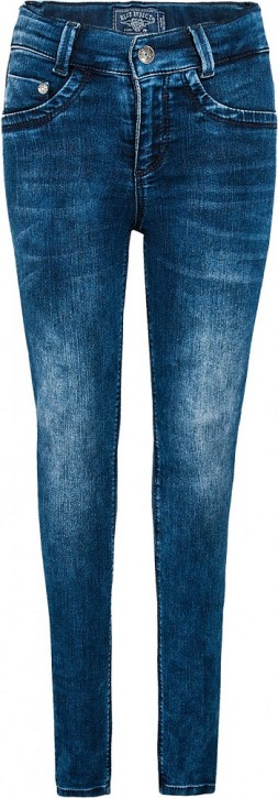 Blue Effect Mädchen Ultrastretch Jeans darkblue SUPER SLIM