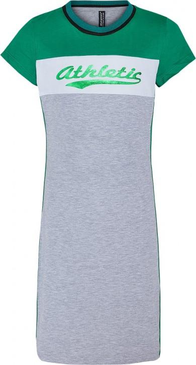 Blue Effect Mädchen Jersey-Kleid ATHLETIC hellgrau melange