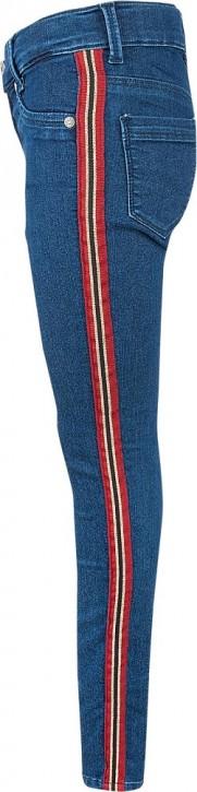 Blue Effect Mädchen Jeans seitlicher Streifen blue NORMAL