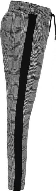 Blue Effect Mädchen Hose mit seitl. Streifen karo grau