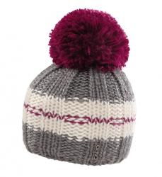 CAPO Mütze mit Pompon Streifen