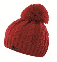 CAPO KIDS Strick-Mütze mit Pompon fire