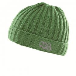 CAPO KIDS Strick-Mütze grasgrün
