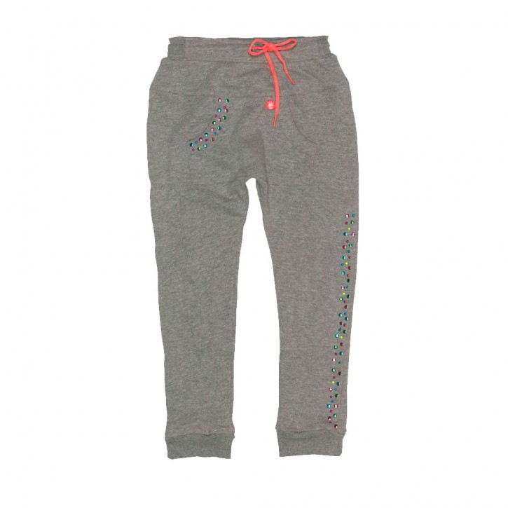 Mim-Pi Sweat-Hose grey melange