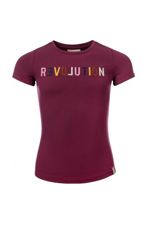LOOXS REVOLUTION T-Shirt plum