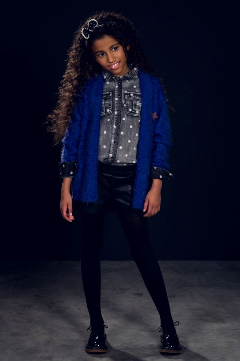 RETOUR Jeans-Bluse KIMBERLY light grey denim