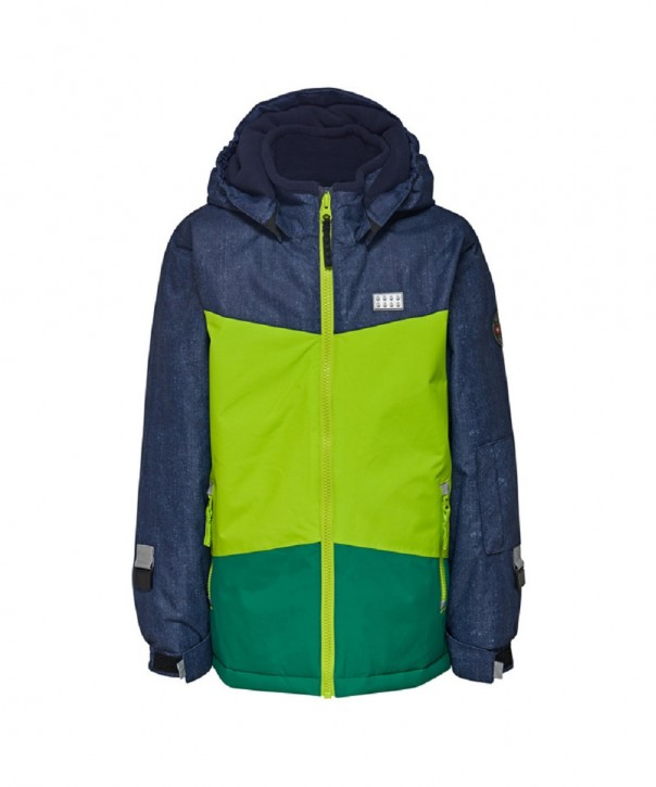 Lego Wear Tec Jungen Winter-Jacke JAKOB lime green