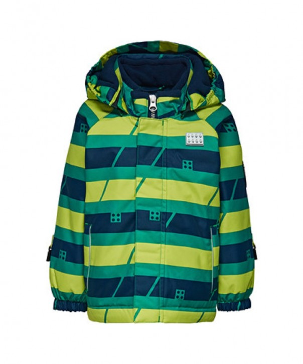 Lego Wear Tec Jungen Winter-Jacke JOHAN lime green