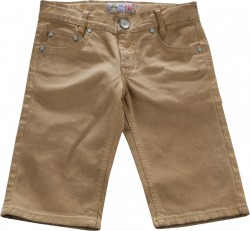 Blue Effect Jungen coloured Jeans-Bermuda lehm oil verlaufend