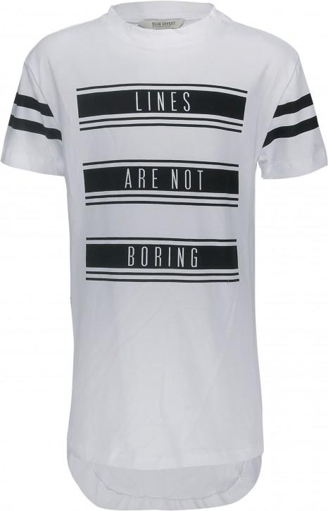 Blue Effect Jungen Long-T-Shirt weiß