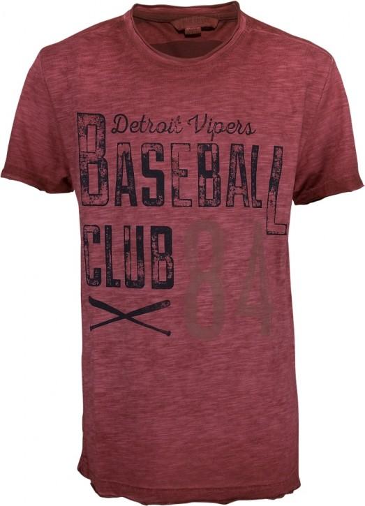 Blue Effect Jungen T-Shirt Baseball feuerrot