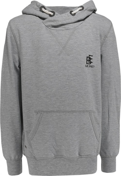 Blue Effect Kapuzen-Sweat-Shirt grau melange