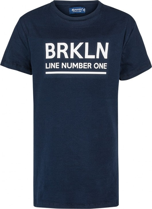 Blue Effect Jungen T-Shirt BRKLYN nachtblau