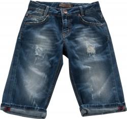 Blue Effect Jungen Jeans-Bermuda destroyed mittelblau