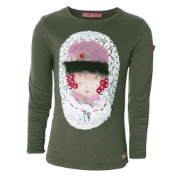 Muy Malo Langarm-Shirt/Longsleeve Girls Portrait canteen