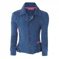 Muy Malo Sweat-Jacke/Blazer orion blue