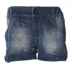 Muy Malo Jeans-Short gray denim