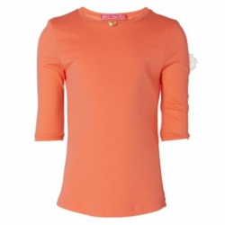 Muy Malo Basic 3/4-Arm-Shirt hotcoral