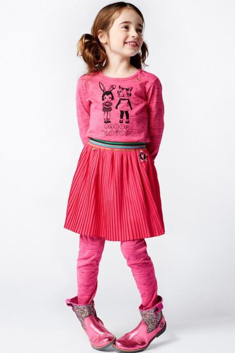 Mim-Pi Plissee-Rock pink