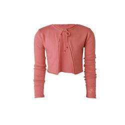 Muy Malo feinstrick Bolero diva pink