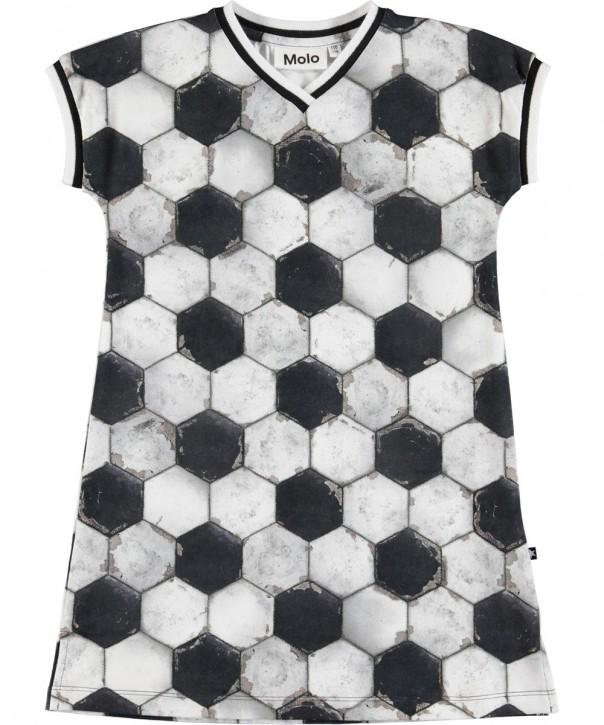 Molo Mädchen Kleid CALIFORNIA football structure