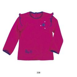 Mim-Pi Langarmshirt pink-lavendel
