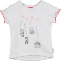 Kiezel-tje Mini T-Shirt Print weiß