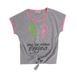 Vingino T-Shirt HAVANE grey mele