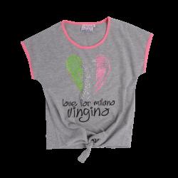Vingino T-Shirt HAVANE grey mele