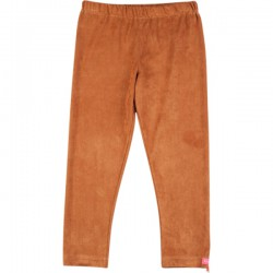Kiezel-tje Legging caramel brown