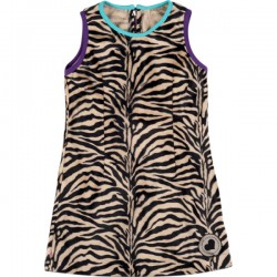 Kiezel-tje Etui-Kleid zebra