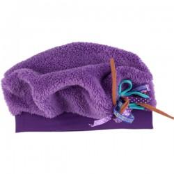 Kiezel-tje Teddy-Mütze purple