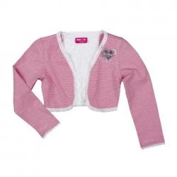 Mim-Pi Bolero Streifen pink-ecru