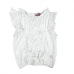 Mim-Pi Bluse/Shirt ecru