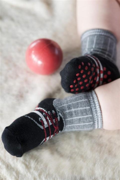 Bonnie Doon Baby Socken Sneaker navy