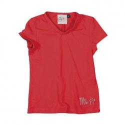 Mim-Pi Basic-T-Shirt rot