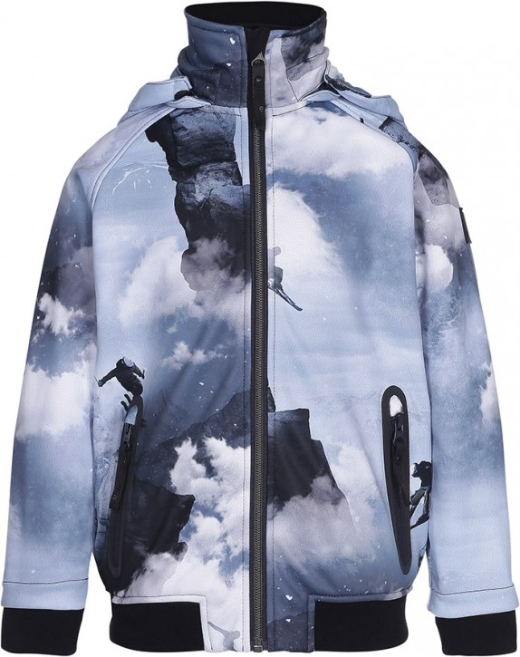 Molo Jungen Softshell-Jacke CLOUDY High in the Sky