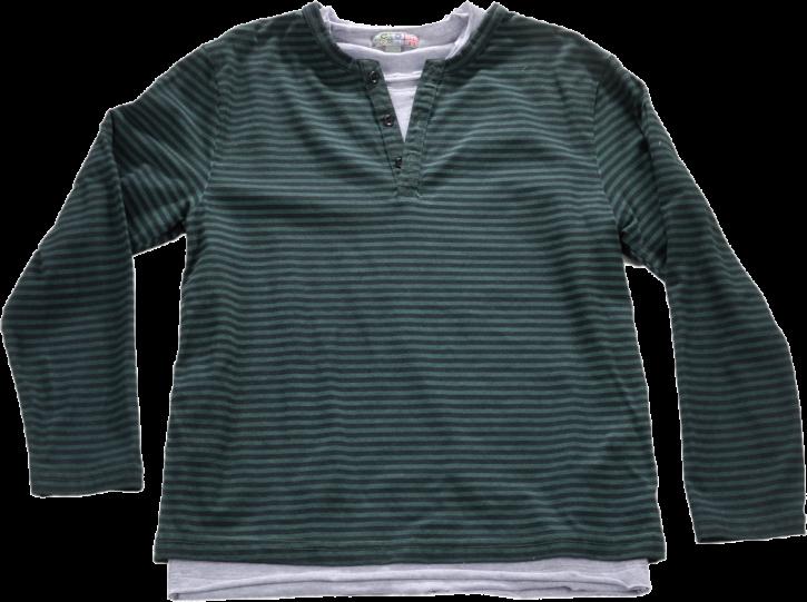 Blue Effect 2 in 1 Langarm-Shirt/Longsleeve SET tannengrün oil