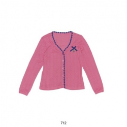 Mim-Pi Strickjacke/Cardigan soft pink